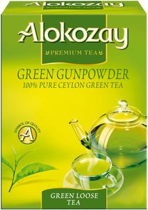 Alkozay Premium Tea Green Loose Tea 225g