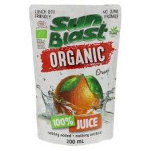 Sun Blast Organic Orange 200ml