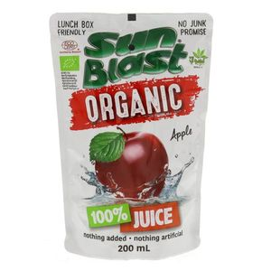 Sun Blast Organic Apple 200ml
