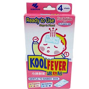 Kool Fever Baby Cooling Gel Sheets 4s