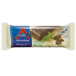 Atkins Advantage Chocolate Mint Bar 60gm