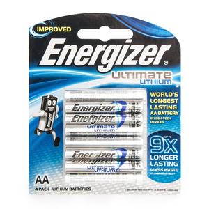 Energizer Lithuim Batterry AA 1.5v 4pcs