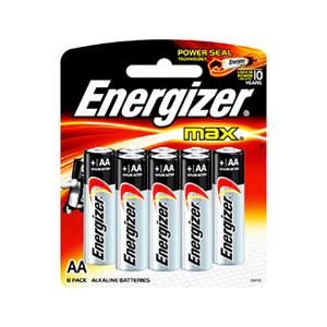 Energizer Max Aa 8+4pcs