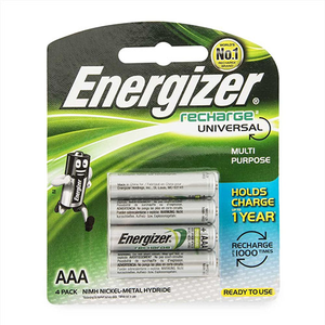 Energizer  Alkaline    Aaa  Rechargeable 4pcs