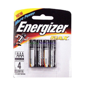 Energizer  Alkaline Aaa 4pcs