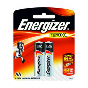Energizer Max Power Seal AA Battery 2pc