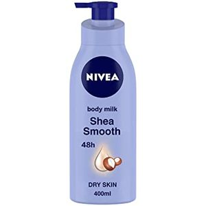 Nivea Shea Smooth Body Lotion With Shea Butter Dry Skin 400ml