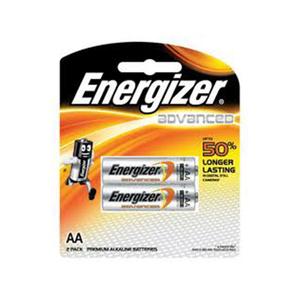 Energizer  Alkaline Aa Longer Lasting 2pcs