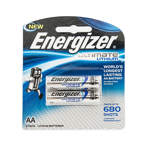Energizer Lithium Battery AA 1.5v 2pcs