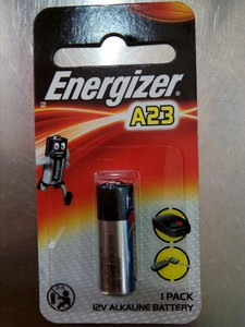Energeizer Lithium Batterty A 23 Bp1 1pc