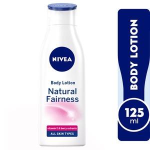 Nivea Natural Fairness Body Lotion Liquorice & Berry All Skin Types 125ml