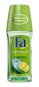 Fa Deo Roll On - Caribbean Lemon 50ml