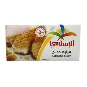 Al Islami Ckn Breast Fillets 280gr 280g
