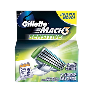 Gillette Mach3 Sensitive Razors 2pc