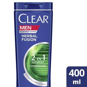 Clear Men's AntiDandruff Shampoo Herbal Fusion 400ml