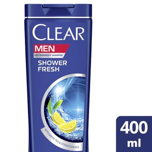 Clear Men's AntiDandruff Shampoo Shower Fresh 400ml