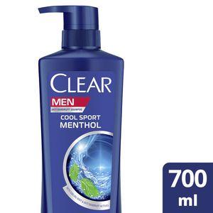 Clear Men's AntiDandruff Shampoo Cool Sport Menthol 700ml