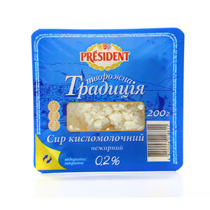 President Cottage Cheese 200g