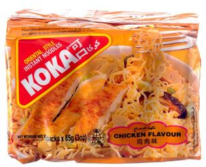 Koka Noodles Chicken 5x85g