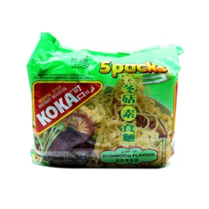 Koka Mushroom Flavour Noodles 5x85g