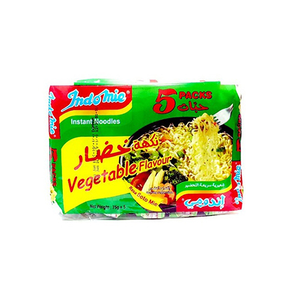 Indomie Noodles Vegetable 5x75gm