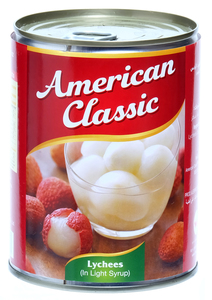 American Classic Lychees In Syrup 567g
