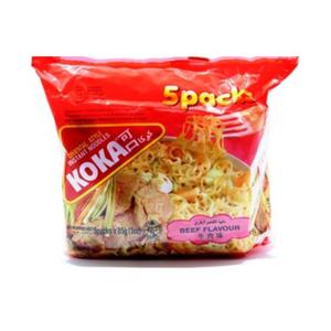 Koka Beef Noodles 5x85g