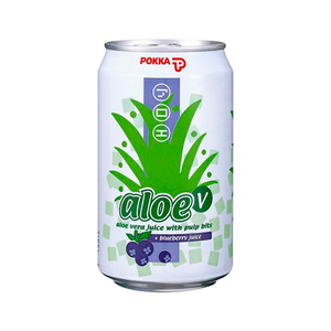 Pokka Aloe Vera Blueberry 300ml