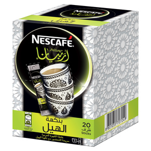 Nescafe Arabiana Instant Arabic Coffee With Cardamom 20x3gm