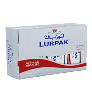 Lurpak Unsalted Pre-Measured Butter Blocks 6x50g