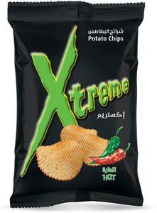 Xtreme Chips Potato Chips Hot 28x50g