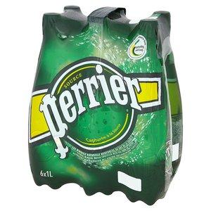 Perrier Sparkling Plastic Bottle 6x1L
