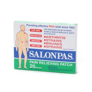 Salonpas Pain Relief Patch 20pcs