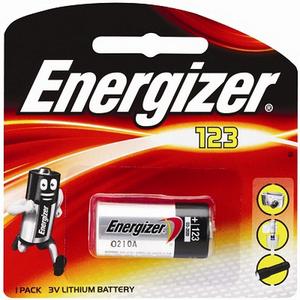 Energizer Lithium 123 3v