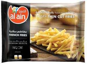 Al Ain French Fries Thin Cut 750g