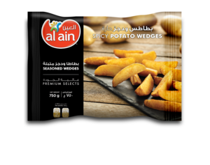 Al Ain French Fries Hot & Spicy Wedges 750g