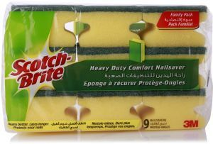 Scotch Brite Heavy Duty Laminate Sponge 10pc