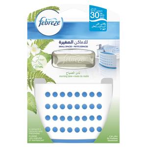 Febreze Small Spaces Morning Dew Air Freshener Starter Kit 1s