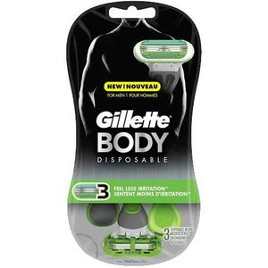 Gillette Body Men's Disposable Razors 8s