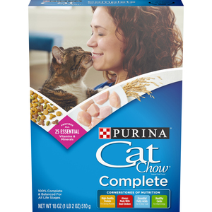 Purina Cat Chow Complete Cat Dry Food 510g