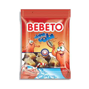 Bebeto Jelly Drink Cola 80g