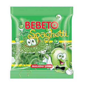 Bebeto Spaghetti Apple 80g
