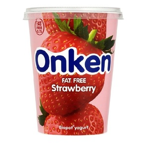 Onken Strawberry Biopot Yoghurt 450g