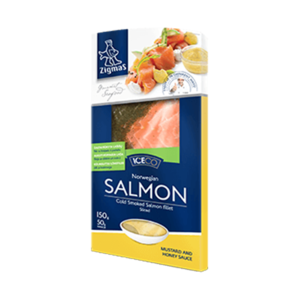 Delsa Smoked Atlantic Salmon Dill 100g