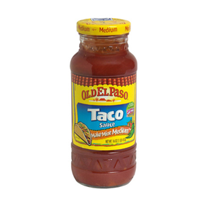 Old Elpaso Taco Sauce Medium 453g