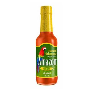 Amazon Habanero Mustard Sauce 167ml