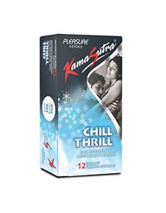 Kamasutra Condom Chill Thrill 12pc