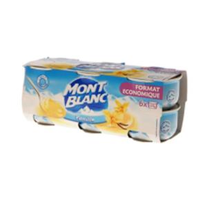 Montblanc Vanilla Desert Cream 4x125g