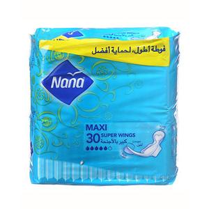 Nana Maxi Super Wings Pads 30pcs