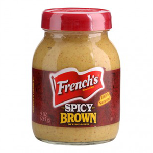 French Brown Spicy Mustard 9oz